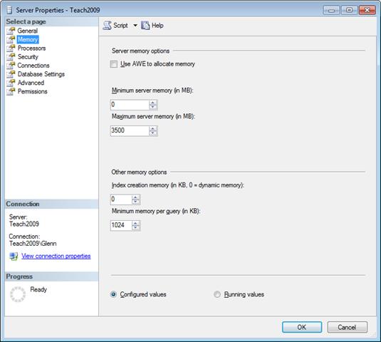 windows 2012 standard memory limit
